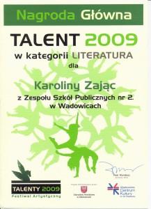 Talent 2009