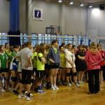 Zawody miejsco-gminne w siatkówce dziewcząt i chłopców