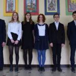 Sukcesy uczniów gimnazjum w konkursach przedmiotowych